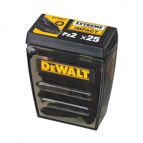 Boite Tic-Tac 20x embouts IMPACT DeWALT DT70527