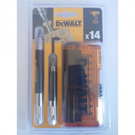 Coffrets de vissage 14 pièces DeWALT DT71502