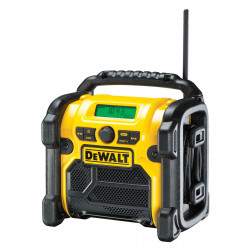 Radio de chantier Dewalt compatible batteries XR 10,8 / 14,4 / 18V - DCR019