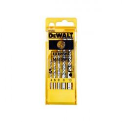 Coffret 5 forets béton EXTREME 4, 5, 6, 8, 10 mm DeWALT DT6956
