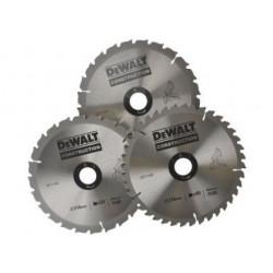 Pack 3 lames 250 mm DeWALT DT1125