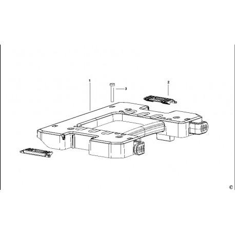 Adaptateur Dewalt T-STAK pour aspirateur DWV902M - DWV9500