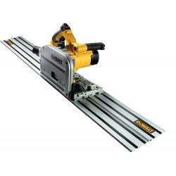 Scie plongeante Dewalt 55mm avec rail 1.50m - DWS520KR