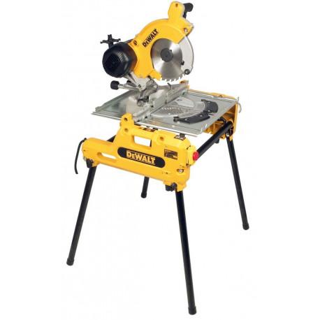 Scie à table et à onglets retournable Dewalt Ø250mm 2000W - DW743N