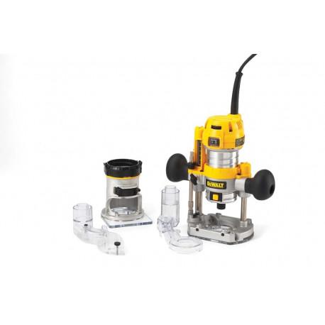Défonceuse et affleureuse Dewalt Ø6-8 mm 850W - D26204K