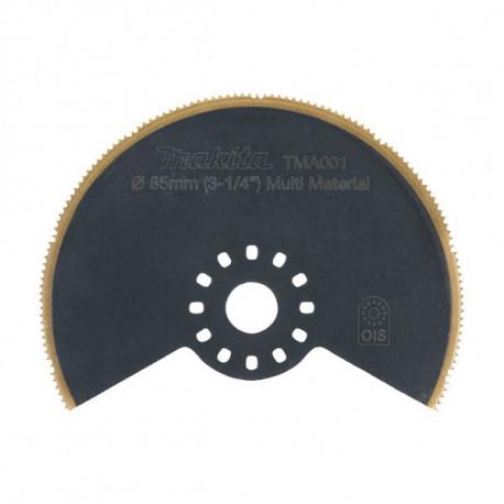 Lame segment BIM-TiN Multi-mat. Plate Ø 85 mm Makita B-21272