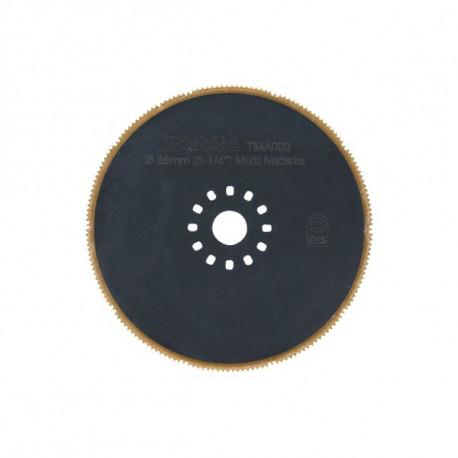 Lame circulaire BIM-TiN Multi-mat. Plate Ø 65 mm Makita B-21303