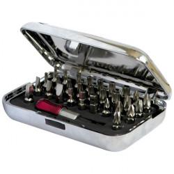 Coffret 29 embouts + porte-embout magnétique Makita P-56998