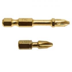 Embouts Impact Gold Torsion PHILLIPS PH2 50 mm Makita B-28173