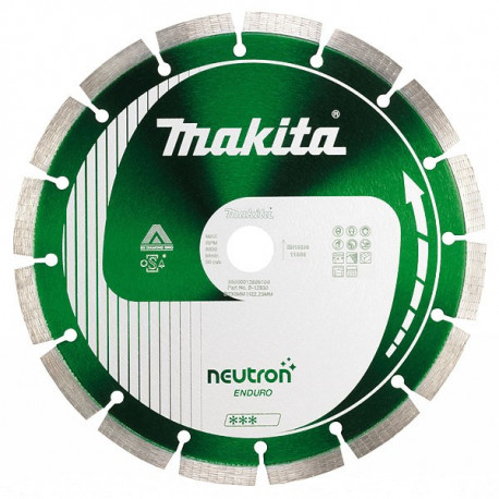 Disque diamant NEUTRON-ENDURO 150 mm segment 10 mm Makita B-27202