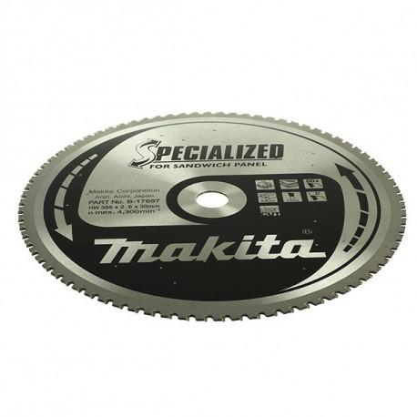 Lame carbure pour scies circulaires Ø 270 mm 60D (pour sandwich) Makita B-17681