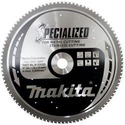 Lame carbure HAUTE RESISTANCE pour acier inox Ø 305 mm Makita B-23123