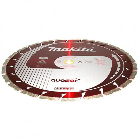 Disque diamant QUASAR anti-vibration, anti-bruit Stealth 230 mm segment 12 mm Makita B-12712