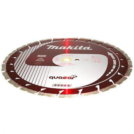 Disque diamant QUASAR anti-vibration, anti-bruit Stealth 400 mm segment 12 mm Makita B-13471