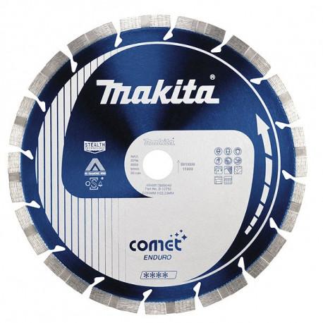 Disque diamant COMET-ENDURO anti-vibration, anti-bruit Stealth 400 mm segment 10 mm Makita B-13530