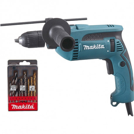 Perceuse à percussion Makita 680W Ø13mm - HP1641K1X