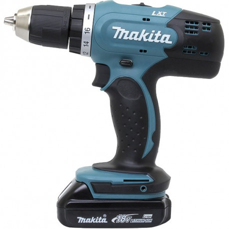 Perceuse visseuse sans fil Makita 18V Li-Ion 2x1,5Ah Ø13 mm - DDF453RYJ