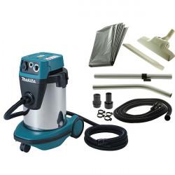 Aspirateur classe L Makita eau et poussière 1050W 220mbar + accessoires - VC3210LX1
