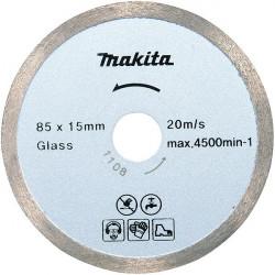 Disque diamant à eau pour le verre 85 x 1.8 x 15 Makita B-21098
