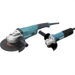 Lot meuleuses Makita Ø125mm 840W et Ø230MM 2200W - LOT0032
