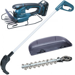 Coupe-herbe 18V Li-Ion 1,5Ah + Kit taille-haies Makita DUM168SYX
