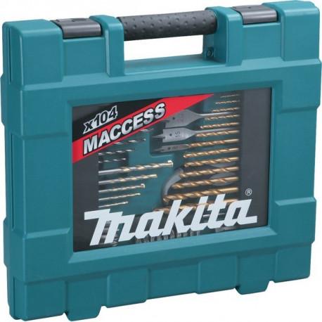 Coffret professionnel Makita percage et vissage 104 pièces - D-31778