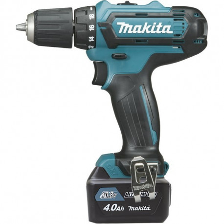 Perceuse visseuse sans fil Makita 10.8V Li-Ion 2x4Ah Ø10mm - DF331DSMJ