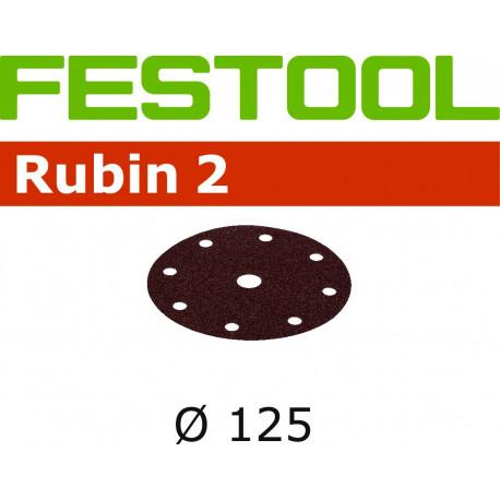 Abrasifs STF D125/90 P220 RU2/10 Festool 499108