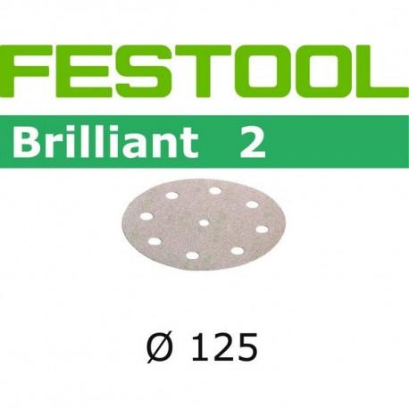 Disques abrasifs STF D125/90 P400 BR2/100 Festool 492952