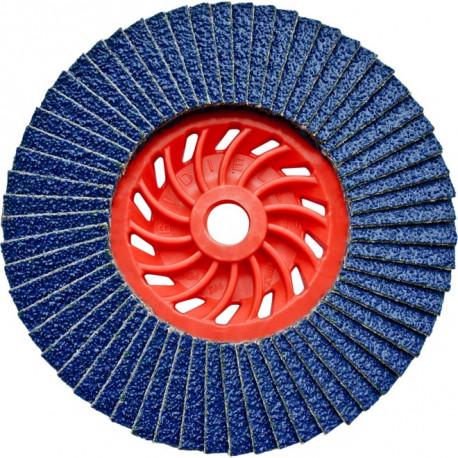 Dronco - 10 disques à lamelle Ø125mm grain 40 à 80 J-AZA