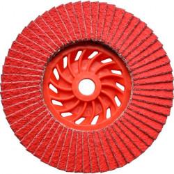 Dronco - Disque à lamelles Ø125mm grain 40 à 80 J-AK