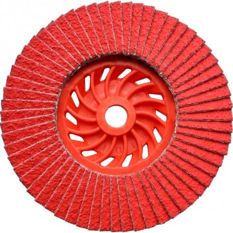 Dronco - Disque à lamelles Ø115mm grain 40 à 80 J-AK