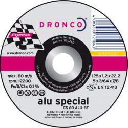 Dronco - Disque à tronçonner Ø125mm CS 60 ALU