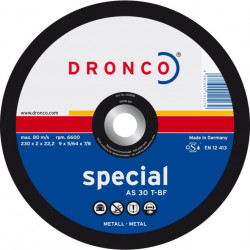 Dronco - Disque à tronçonner Ø125mm AS 30 T