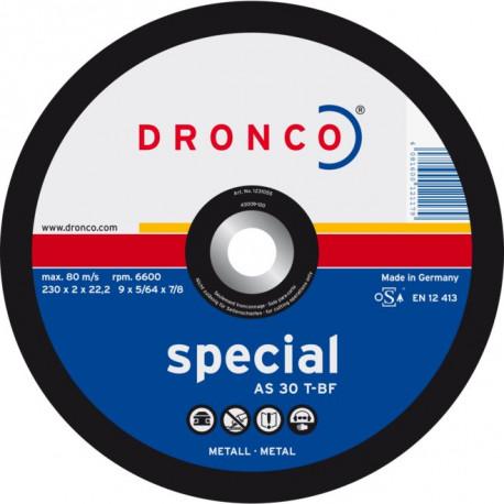 Dronco - Disque à tronçonner Ø125mm AS 30 T