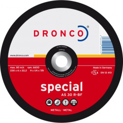 Dronco - Disque à tronçonner Ø125mm AS 30 R