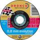Dronco - Boîte de 25 disques à tronçonner Ø125mm AS 60 W