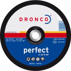 Dronco - Disque à tronçonner Ø230mm A 24 R Universel