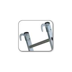 Crochet aluminium (paire) Ø50 mm Centaure 380106
