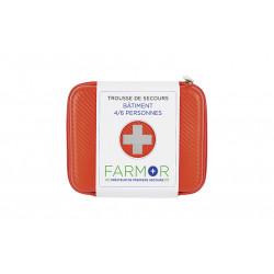 Trousse de secours spéciale bâtiment 4-6 personnes - Farmor