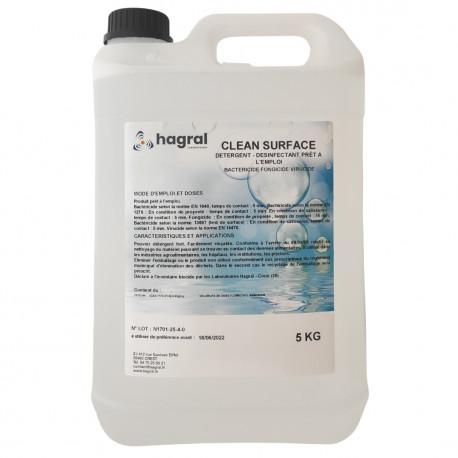 Désinfectant Clean Surface prêt à l'emploi - 5L