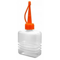Burette flacon en plastique corps accordéon 60ml
