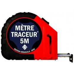 Mètre traceur 5mx25mm avec 10 mines de recharge MT5-N - JSTH