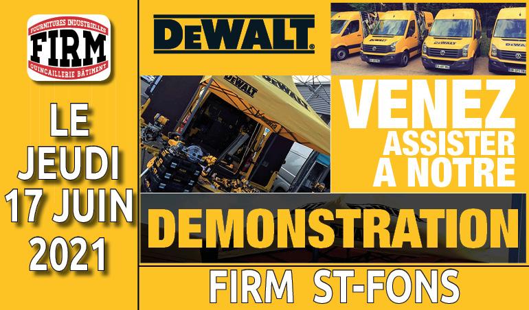 Journée démonstration Dewalt