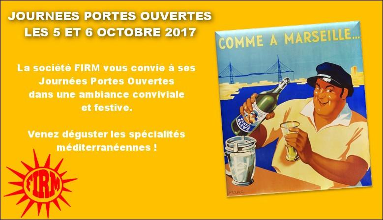 Journées Portes Ouvrtes les 5 et 6 octobre 2017